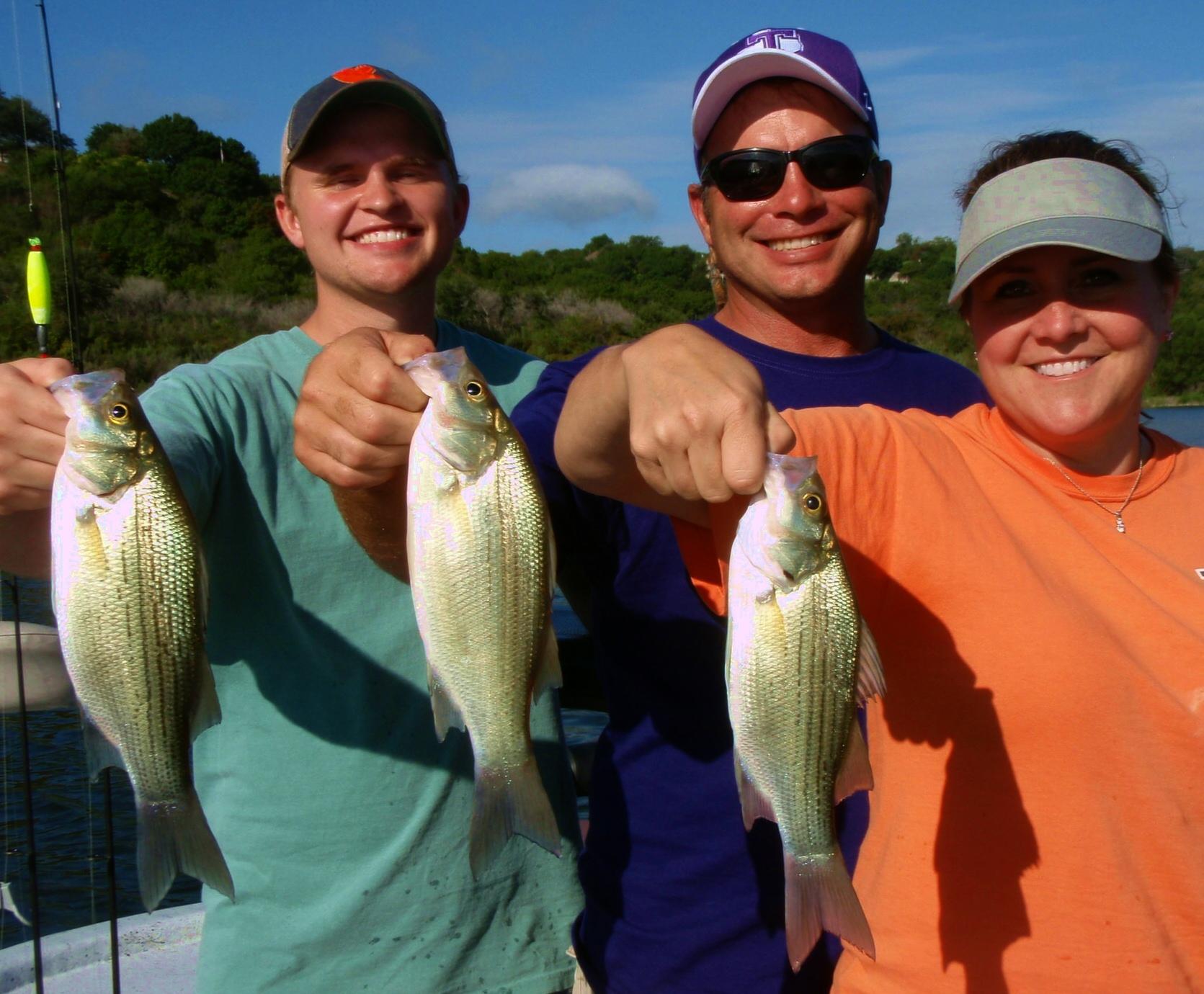 Family Fishing on Belton - 29 Fish, 19 Sep. 2015 | Fishing ...